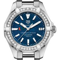 Miami Women's TAG Heuer 35mm Steel Aquaracer with Blue Dial