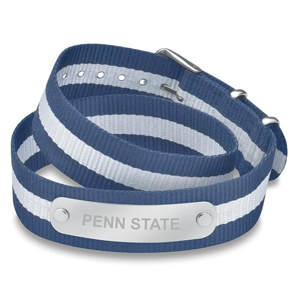 Penn State Double Wrap NATO ID Bracelet