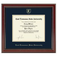 East Tennessee State University Diploma Frame, the Fidelitas