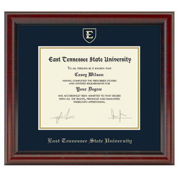 East Tennessee State University Diploma Frame, the Fidelitas