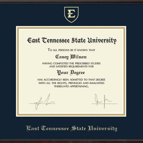 East Tennessee State University Diploma Frame, the Fidelitas - Image 2
