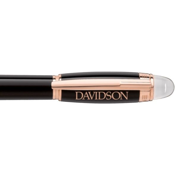 Davidson College Montblanc StarWalker Fineliner Pen in Red Gold - Image 2