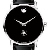 University of Vermont Men's Movado Museum with Leather Strap