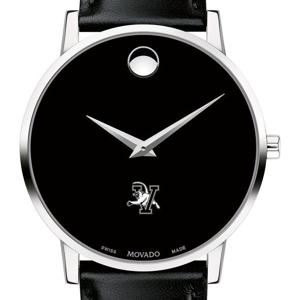 UVM Men's Movado Museum with Leather Strap