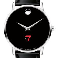 Tepper Men's Movado Museum with Leather Strap