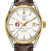 Florida State Men's TAG Heuer Two-Tone Carrera with Strap
