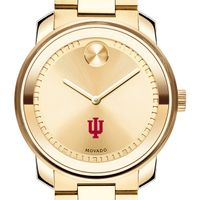 Indiana University Men's Movado Gold Bold