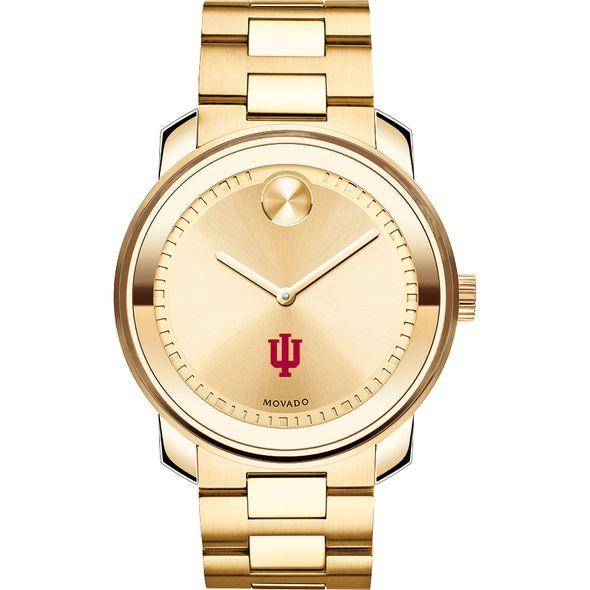 Indiana University Men's Movado Gold Bold - Image 2