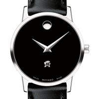 University of Maryland Women's Movado Museum with Leather Strap