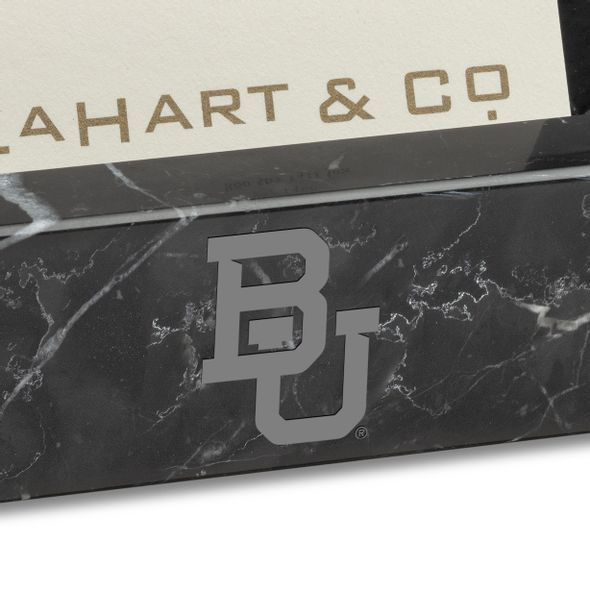 Baylor Marble Business Card Holder - Image 2