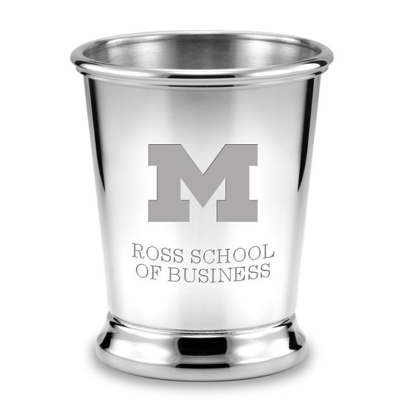 Michigan Ross Pewter Julep Cup