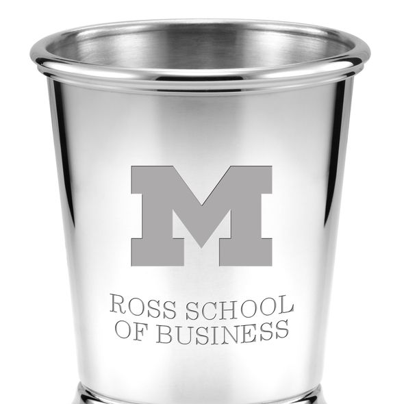 Michigan Ross Pewter Julep Cup - Image 2