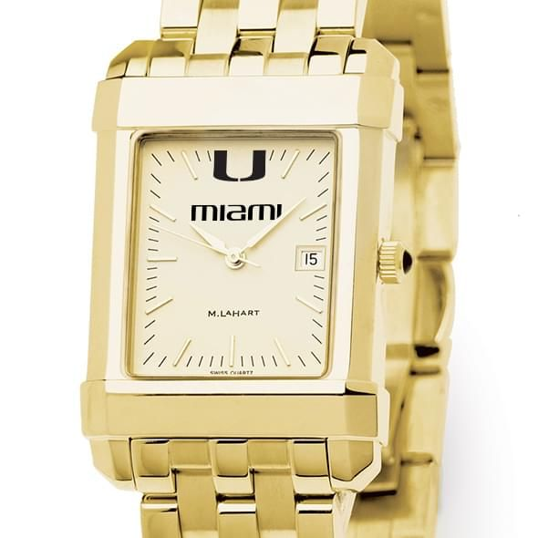 Miami Men's Gold Quad with Bracelet - Image 1