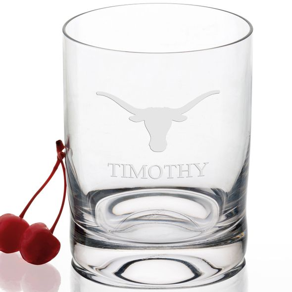 University of Texas Tumbler Glasses - Set of 4 - Image 2