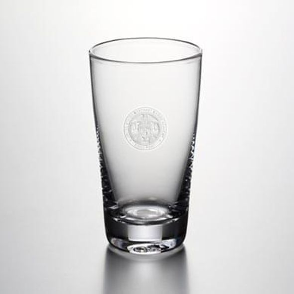 USMMA Pint Glass by Simon Pearce - Image 1