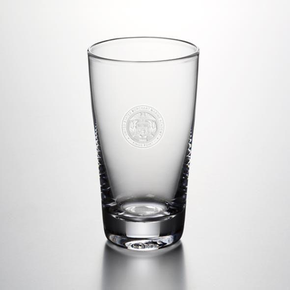 USMMA Pint Glass by Simon Pearce - Image 2