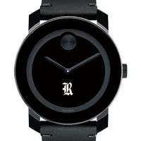 Rice University Men's Movado BOLD with Leather Strap