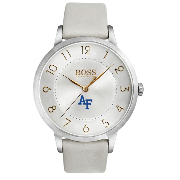 US Air Force Academy Women's BOSS White Leather from M.LaHart - Image 2