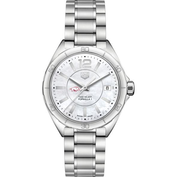 University of Arkansas Women's TAG Heuer Formula 1 with MOP Dial - Image 2