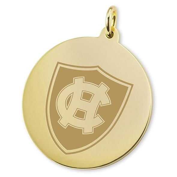Holy Cross 18K Gold Charm - Image 2
