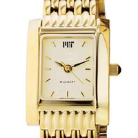 MIT Women's Gold Quad Watch with Bracelet