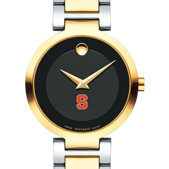 Syracuse University Women's Movado Two-Tone Modern Classic Museum with Bracelet