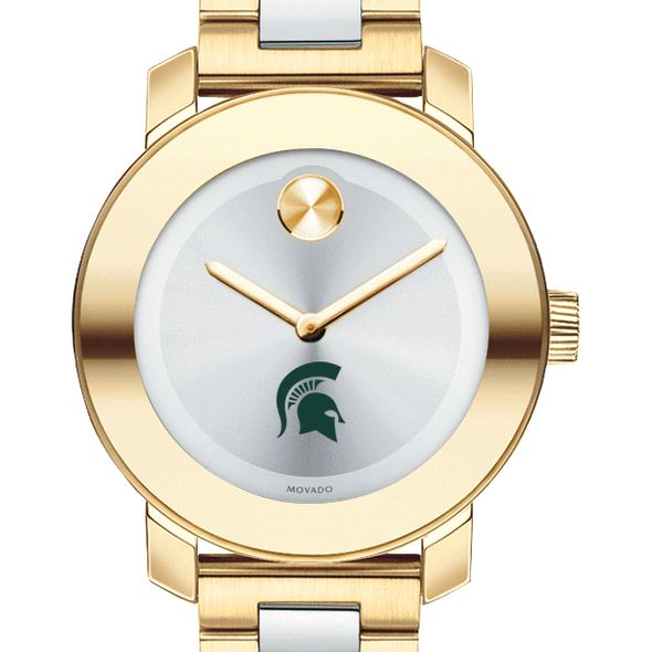 Michigan State Women's Movado Two-Tone Bold - Image 1