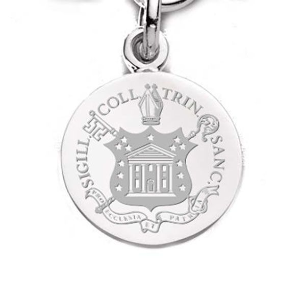 Trinity College Sterling Silver Charm