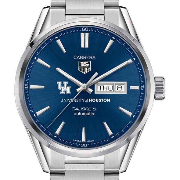 Houston Men's TAG Heuer Carrera with Day-Date - Image 1