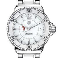 Texas Tech Women's TAG Heuer Formula 1 Ceramic Diamond Watch