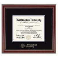 Northwestern Fidelitas Diploma Frame