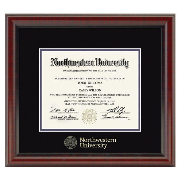 Northwestern University Diploma Frame, the Fidelitas