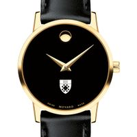 Yale SOM Women's Movado Gold Museum Classic Leather