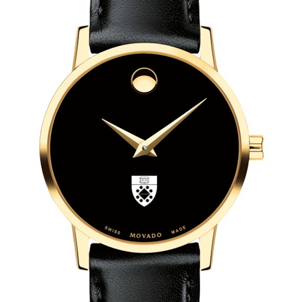 Yale SOM Women's Movado Gold Museum Classic Leather - Image 1