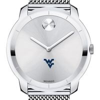 West Virginia University Men's Movado Stainless Bold 44