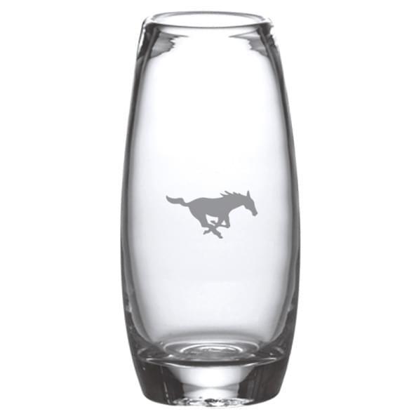 SMU Glass Addison Vase by Simon Pearce