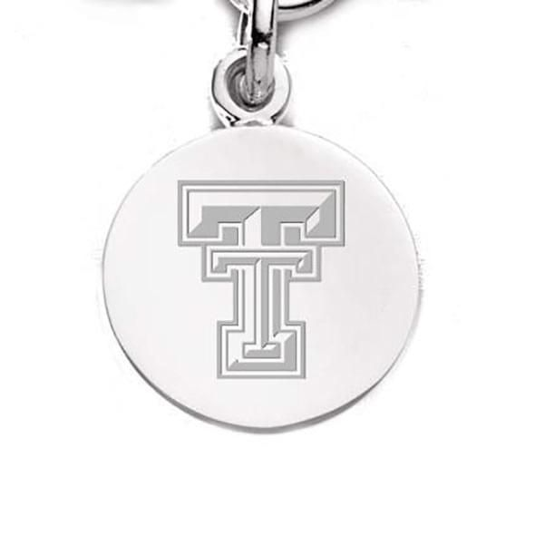 Texas Tech Sterling Silver Charm