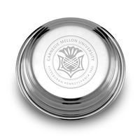 Carnegie Mellon University Pewter Paperweight