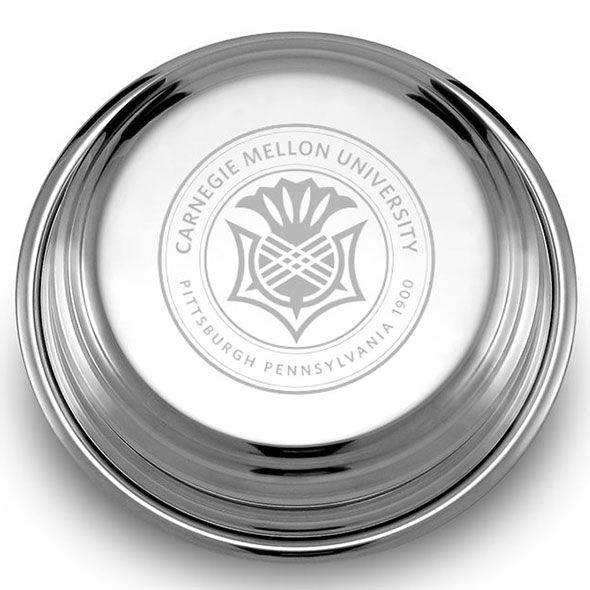 Carnegie Mellon University Pewter Paperweight - Image 2