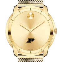 Purdue University Men's Movado Gold Bold 44