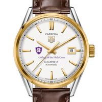 Holy Cross Men's TAG Heuer Two-Tone Carrera with Strap
