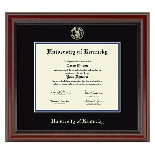 University of Kentucky Diploma Frame, the Fidelitas