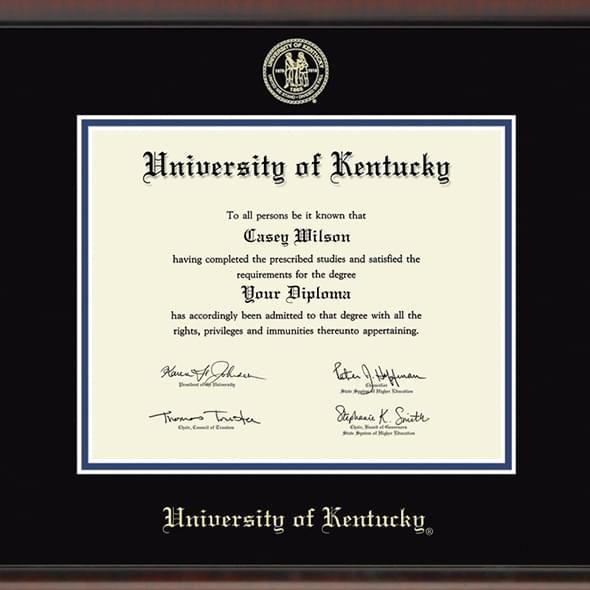 University of Kentucky Diploma Frame, the Fidelitas - Image 2