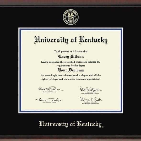 University of Kentucky Diploma Frame, the Fidelitas - Image 2