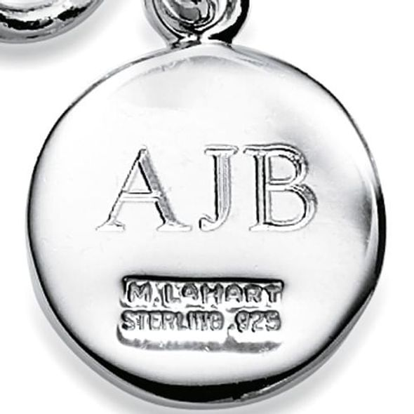 Arizona State Sterling Silver Insignia Key Ring - Image 3
