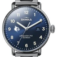 Louisville Shinola Watch, The Canfield 43mm Blue Dial