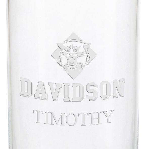 Davidson College Iced Beverage Glasses - Set of 4 - Image 3