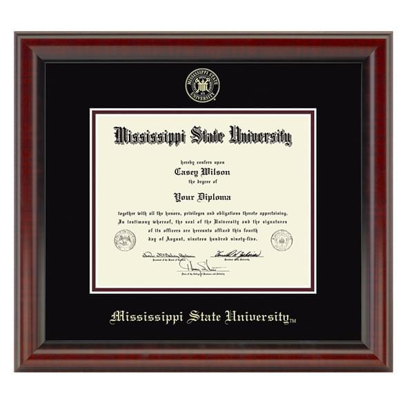 Mississippi State Diploma Frame, the Fidelitas