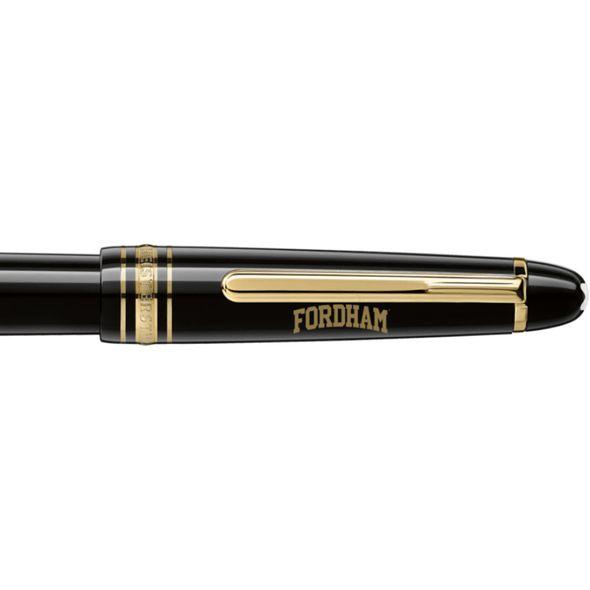 Fordham Montblanc Meisterstück Classique Fountain Pen in Gold - Image 2