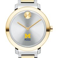 Ross School of Business Women's Movado Two-Tone Bold 34